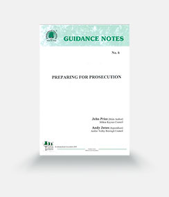 Guidance Note 6: Preparing for Prosecution