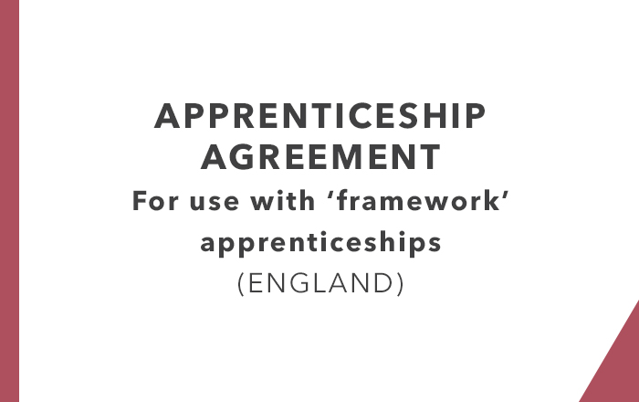 Apprenticeship Agreements England