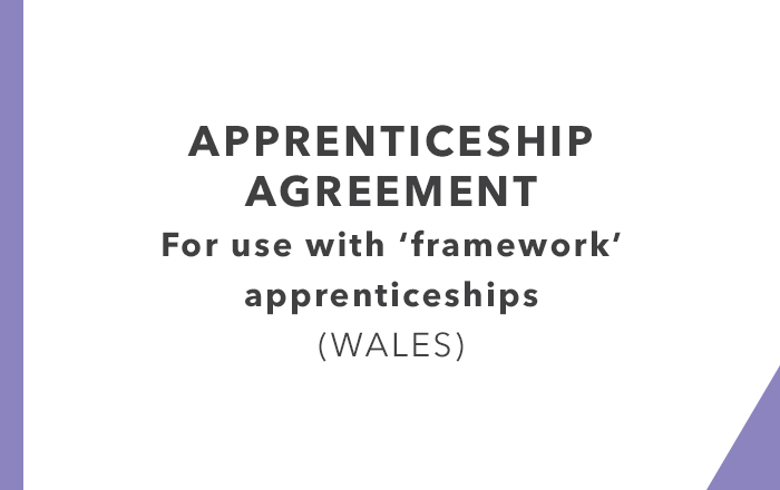 Apprenticeship Agreements Wales
