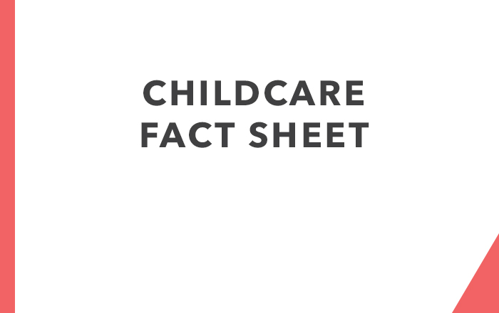 Childcare Fact Sheet