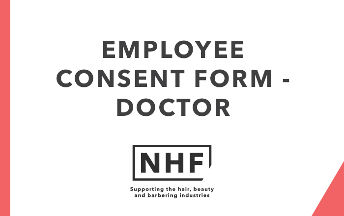 Employee Consent Form - Doctor