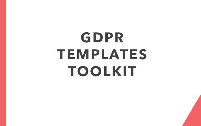 GDPR templates toolkit