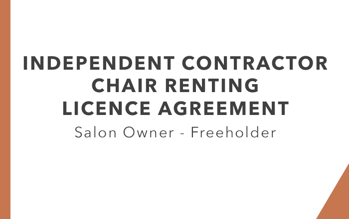 ICA - Chair Renting Freeholder