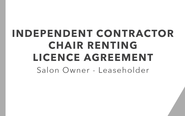 ICA - Chair Renting Leaseholder