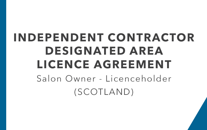 ICA - Designated Area Licence Agreement Leaseholder (Scotland)