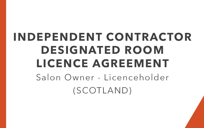 ICA - Designated Room Licence Agreement Leaseholder (Scotland)