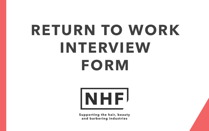Return to Work Interview Form