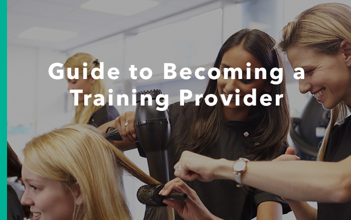 Becoming A Training Provider